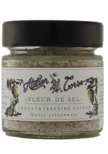 Fleur de sel Atelier Corse 90 gr Cédrat-verveine-citron