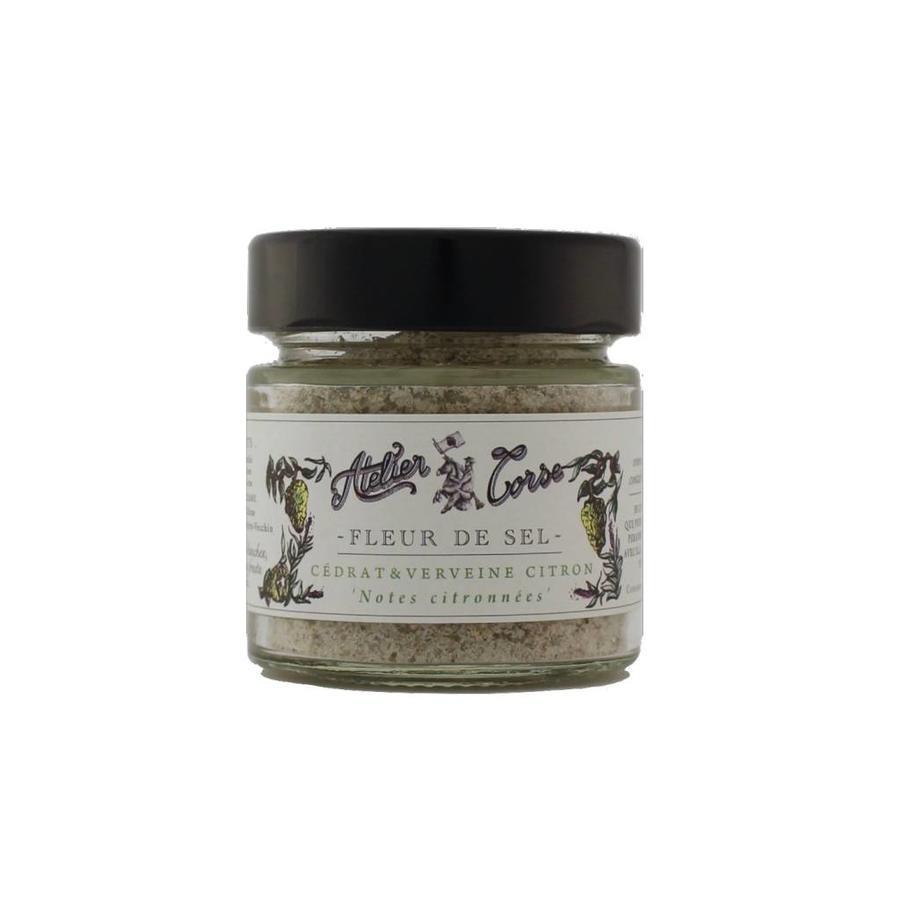 Flower of Salt Atelier Corse 90 gr Citron-verbena-lemon