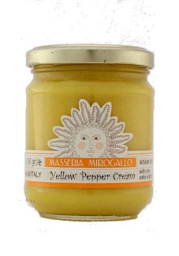 Masseria Mirogallo Yellow Pepper Spread 180g