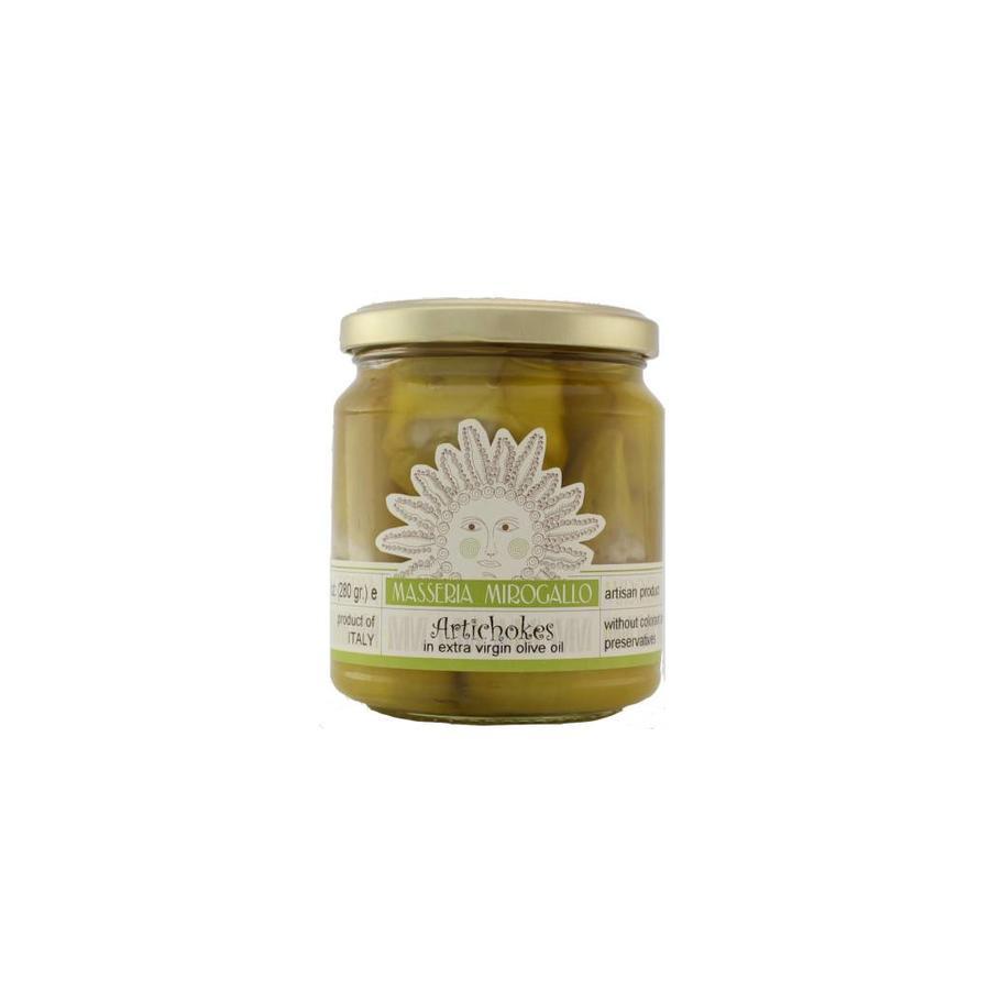 Masseria Mirogallo Artichokes Marinated in Olive oil 280g