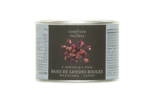 Red Sansho berries from Wakayama - Japan 30g