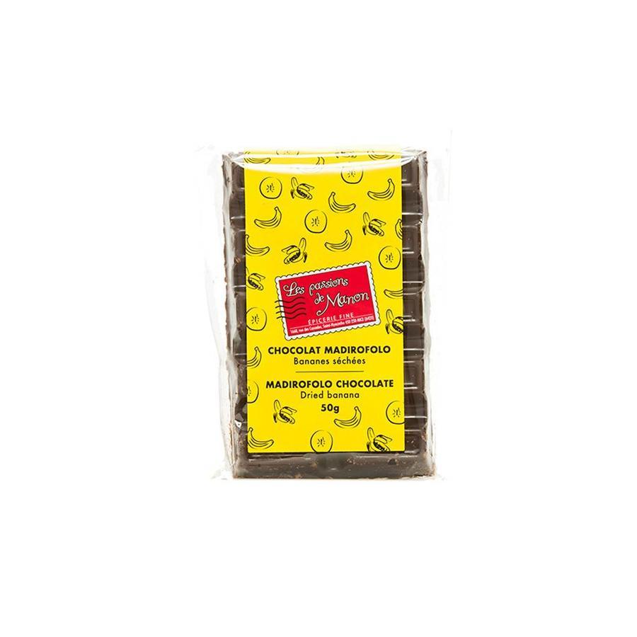 Madirofolo & bananas chocolate 50g