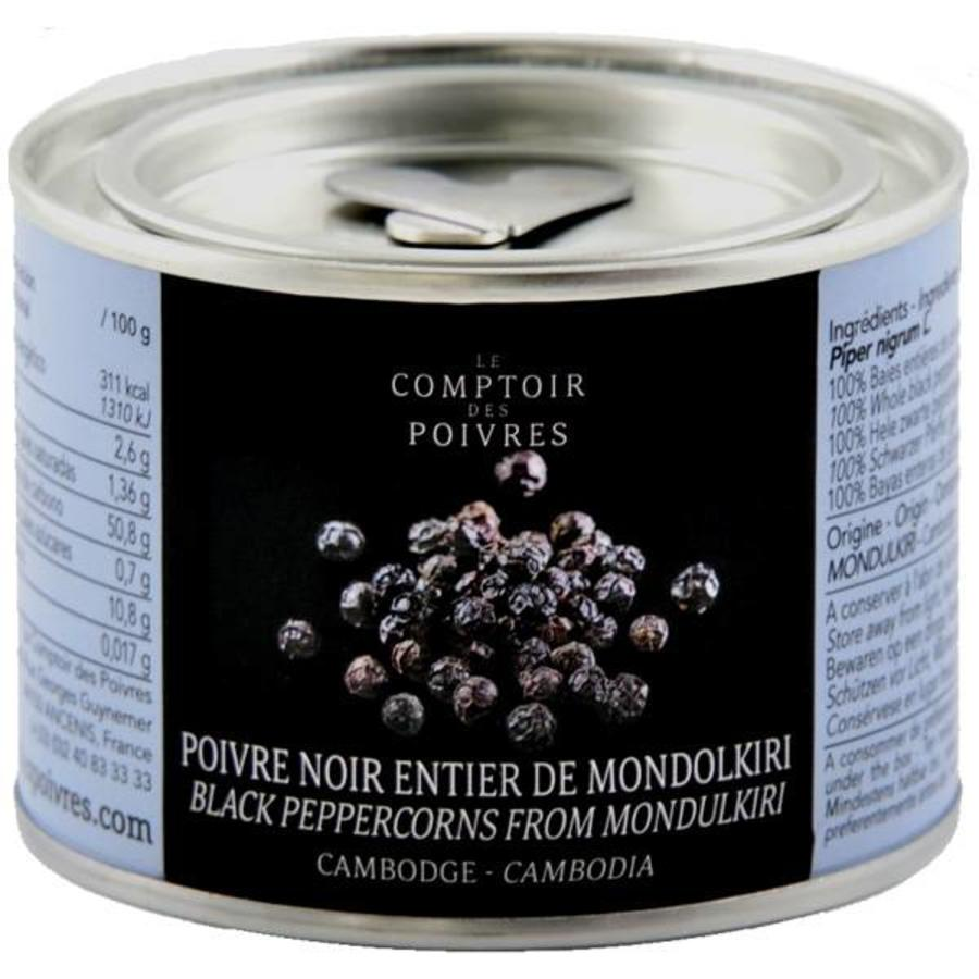 Black peppercorns from Mondulkiri - Cambodia 80g