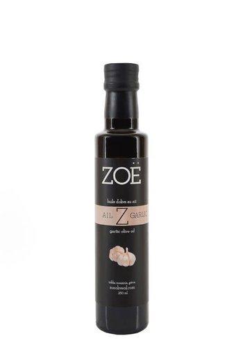 Huile d'olive extra-vierge ZOË infusée à l'ail 250 ml