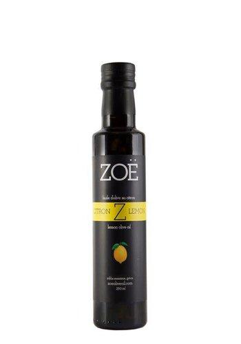Huile d'olive extra-vierge ZOË infusée au citron 250 ml