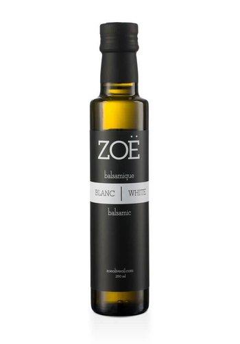 Vinaigre balsamique ZOË  Blanc 250 ml