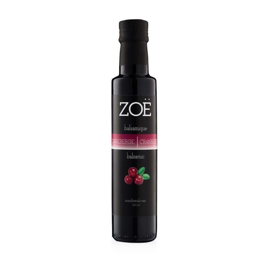 Vinaigre balsamique ZOË 250 ml infusé  Canneberge