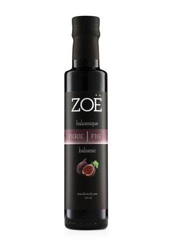 Vinaigre balsamique ZOË  infusé à la figue 250 ml