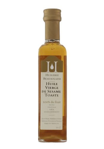 Huilerie Beaujolaise Virgin Grilled Sesame Oil 100 ml