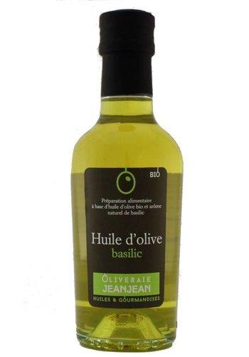 Oliveraie Jean Jean Basil Flavored Organic Extra-Virgin Olive Oil 250 ml