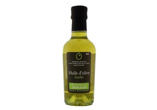 Huile d'olive aromatisée au Basilic 250 ml