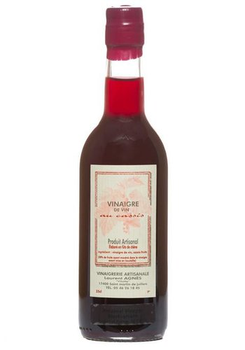 Laurent Agnes Cassis Red Wine Vinegar  250 ml