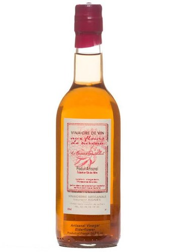 Laurent Agnes Elderflower Red Wine Vinegar - 250 ml