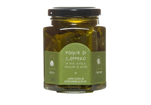 Caper leaves in extra-virgin olive oil 100g