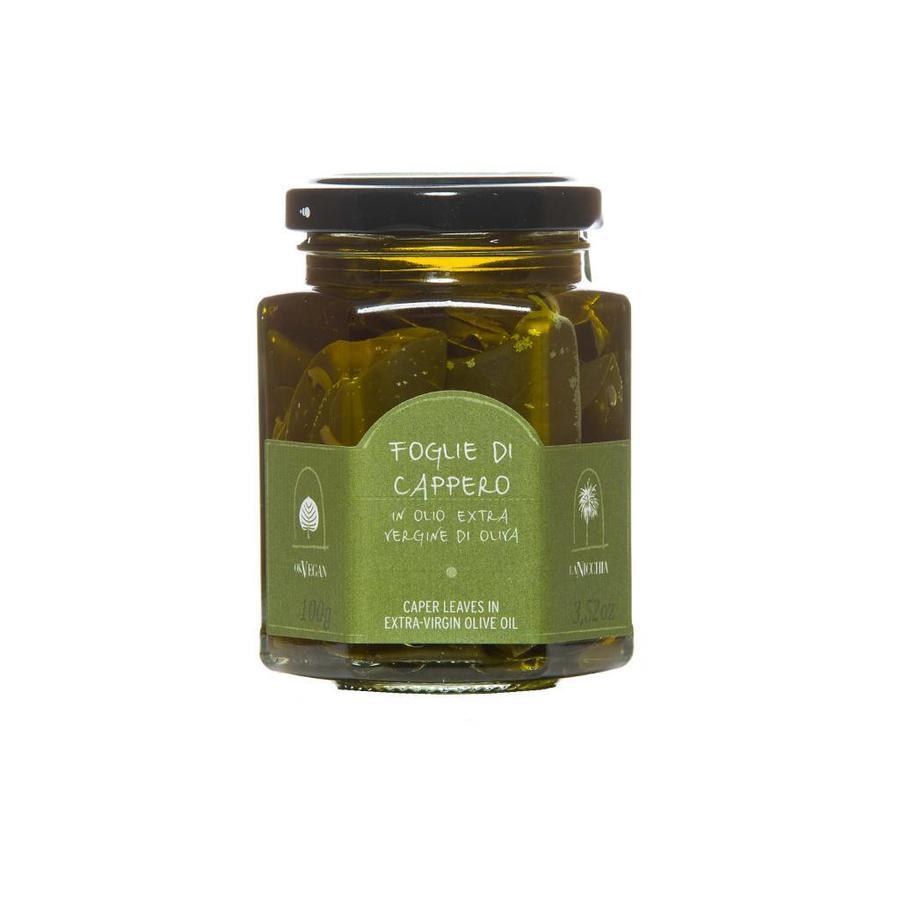 Feuilles de câpres a l'huile d'olive 100g