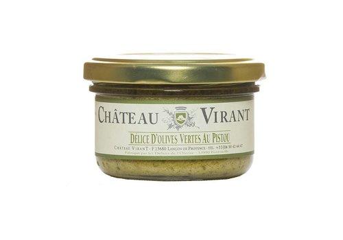 Délice d'olives Vertes au Pistou 90 g