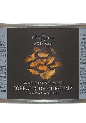 Le Comptoir des Poivres  Shavings of Turmeric Madagascar 40g