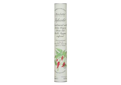 Huile d'olive infusée de Il Boschetto 200ml Piment