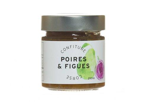 Confiture Poires & Figues Corse 210ml