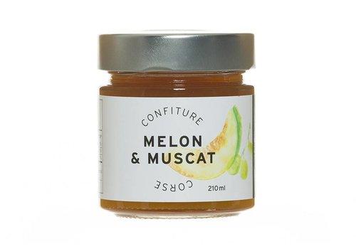 Confiture Melon & Muscat Corse 210ml