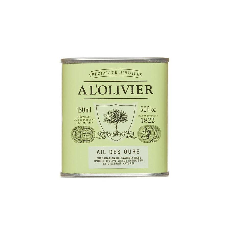 Huile d'olive ail des ours 150 ml