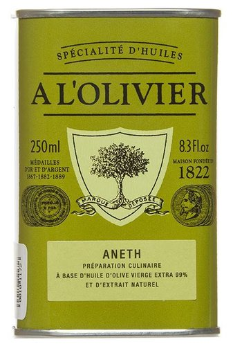 À l'Olivier Dill olive oil 250 ml