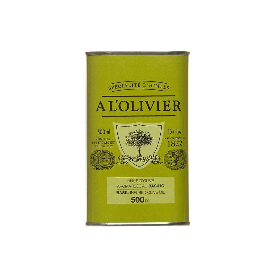 Basil Olive Oil 500ml A l'olivier