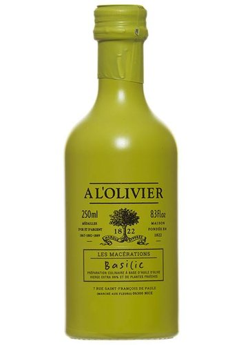 À l'OLIVIER Extra-Virgin Basilic Olive Oil - 250 ml