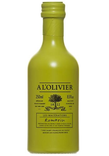 À l'Olivier Rosemary Extra-Virgin Olive oil 250 ml