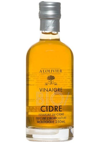 Vinaigre de cidre Bio À l'Olivier 250 ml