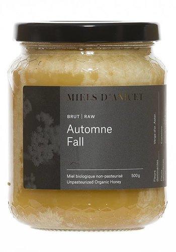 Miel brut d'automne bio 340 g