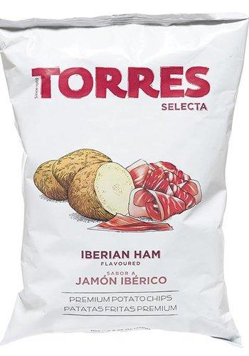 POTATOE CHIPS TORRES Iberian Ham 150G