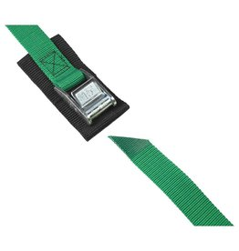 Salamander Paddle Gear 1'' Cam Buckle 15' Strap with Pad (Green)