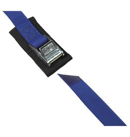 "Salamander Paddle Gear 1"" Cam Buckle 12' Strap with Pad (Blue)"