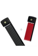 Abus Folding Lock - Bordo uGrip Lite Mini 6055/85 BLACK