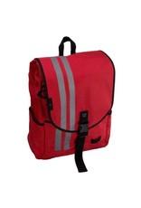 Banjo Brothers Commuter Backpack: LG, RED