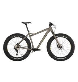 Salsa Mukluk Deore 1x Dark Gray Fat Bike