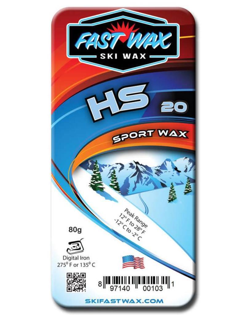 Fast Wax HS-20 BLUE