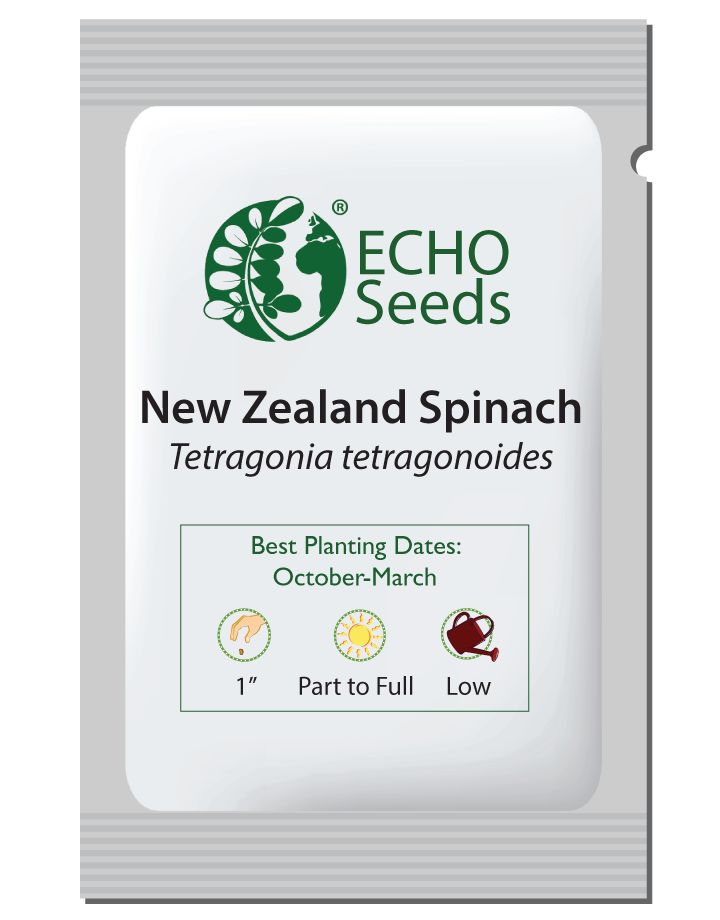 New Zealand Spinach Seed Packet