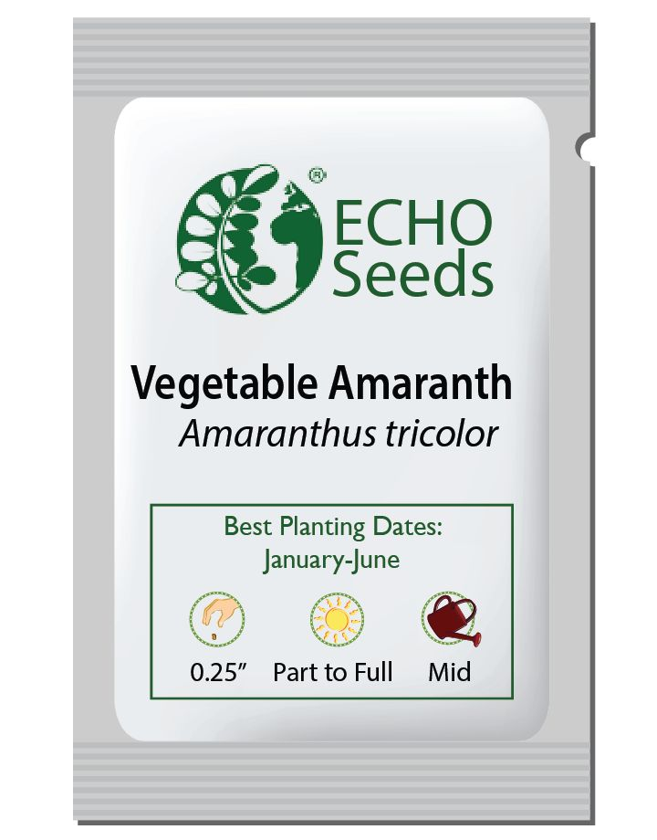 Vegetable Amaranth Seed Packet