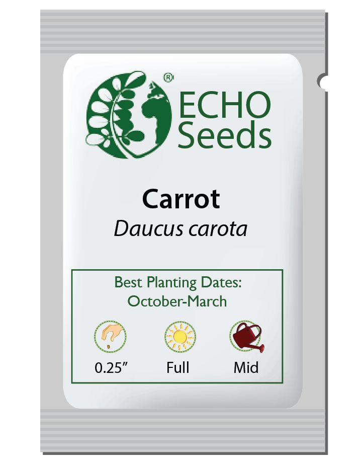 Uberlandia Carrot Seed Packet