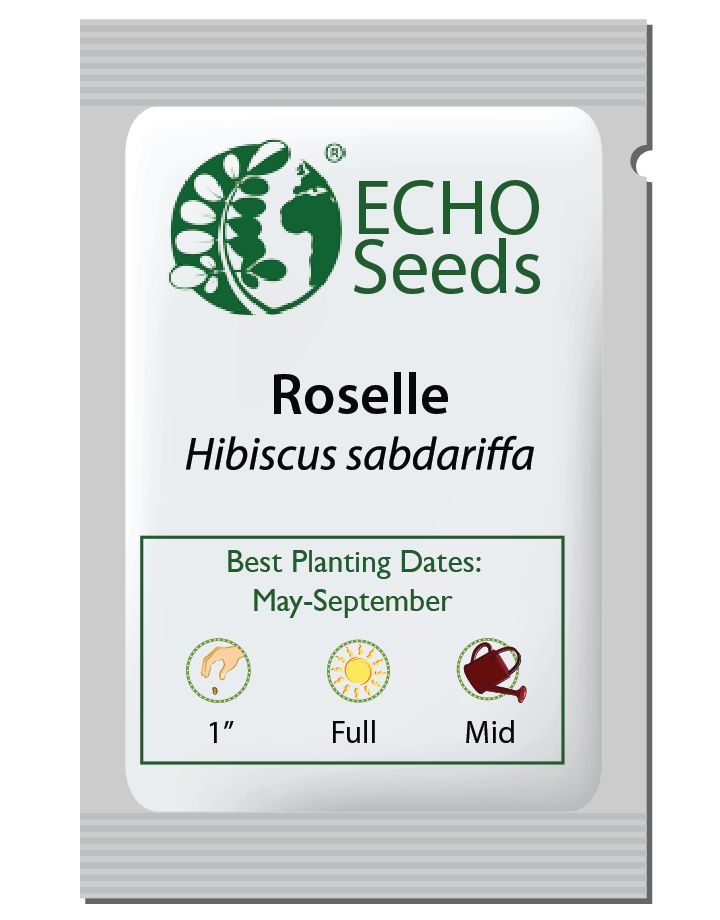 Roselle Seed Packet