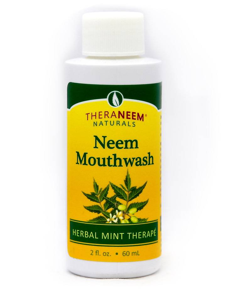 TheraNeem Neem Mouthwash - Travel