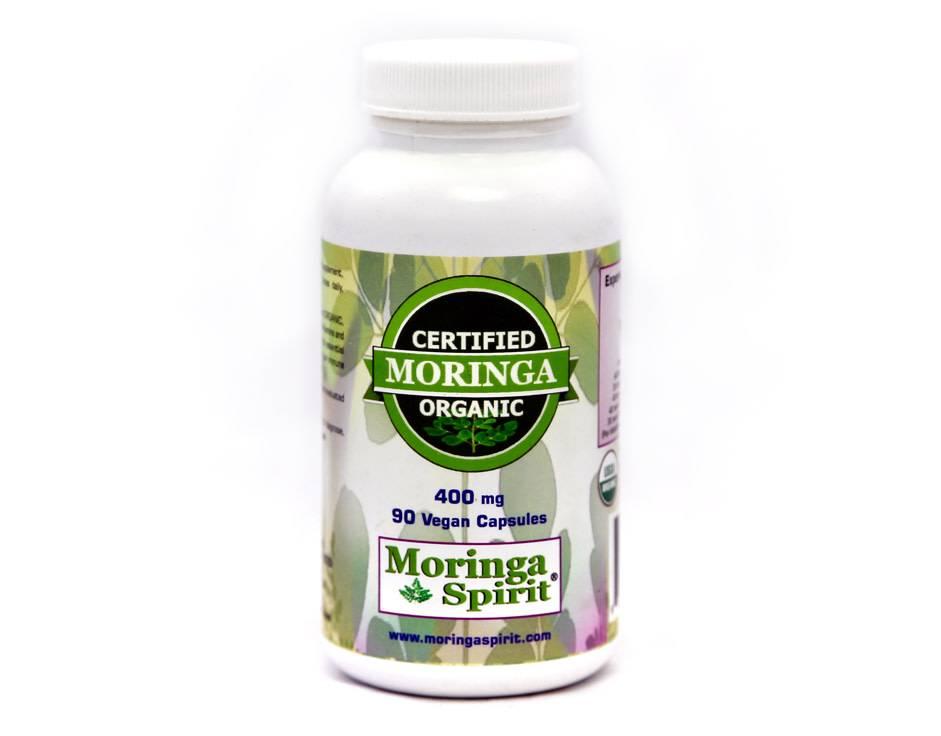Moringa Leaf Capsules - 90 ct.