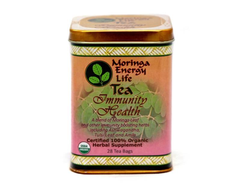 Moringa Energy Tea, Immunity Health
