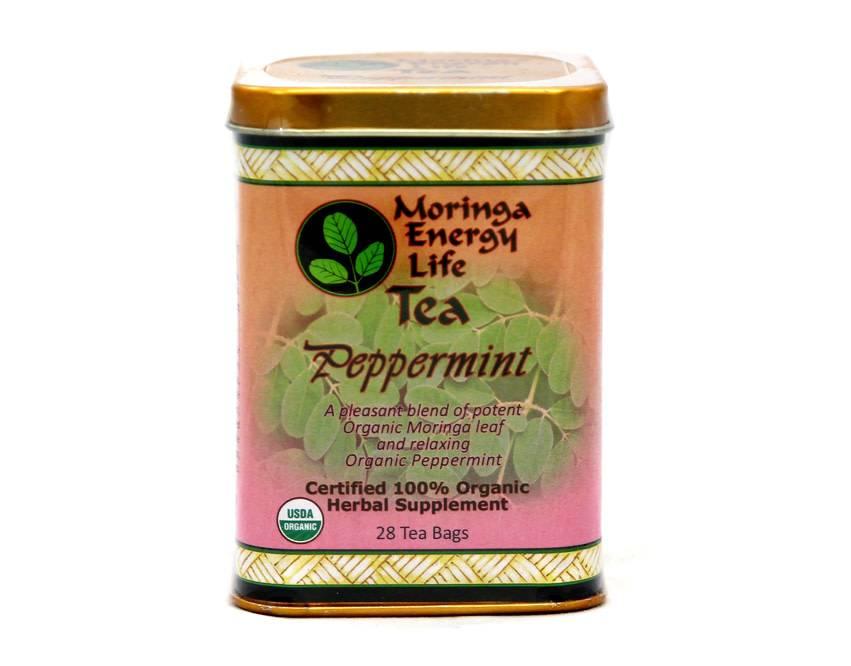 Moringa Energy Peppermint Tea
