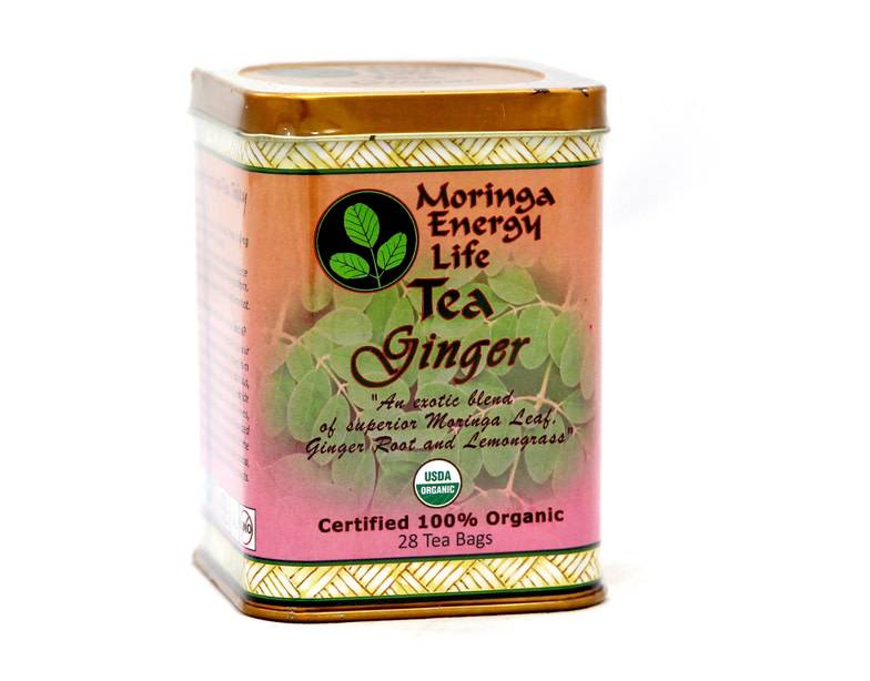 Moringa Energy Tea, Ginger
