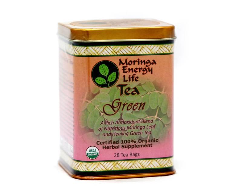 Moringa Energy Tea Green Box