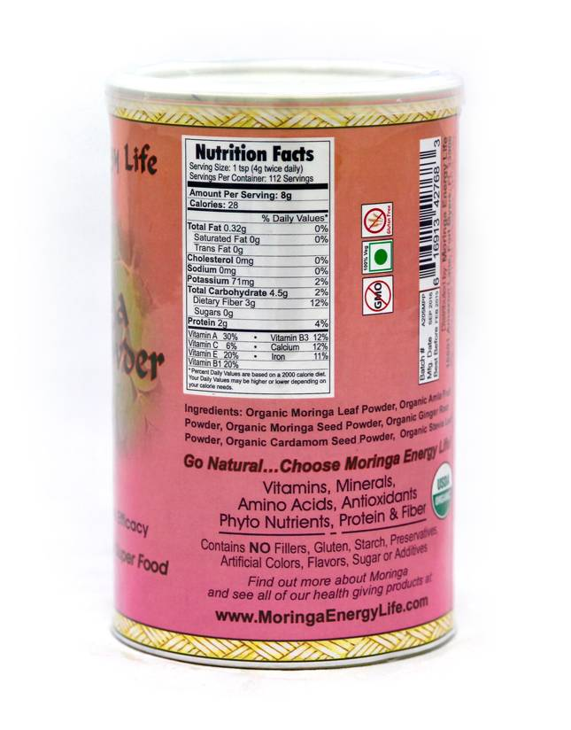 Moringa Energy Powder 1lb