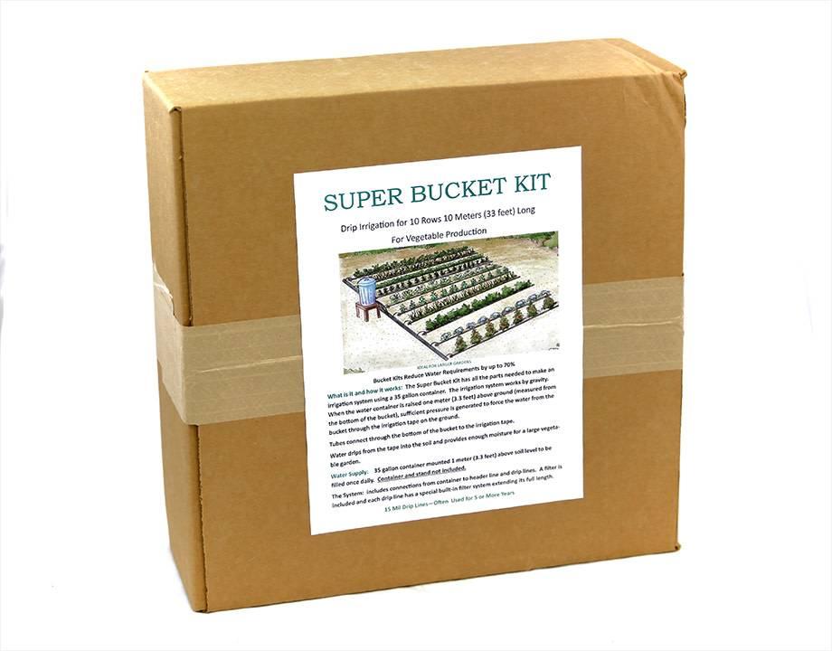 Super Bucket Kit-Drip Irrigation